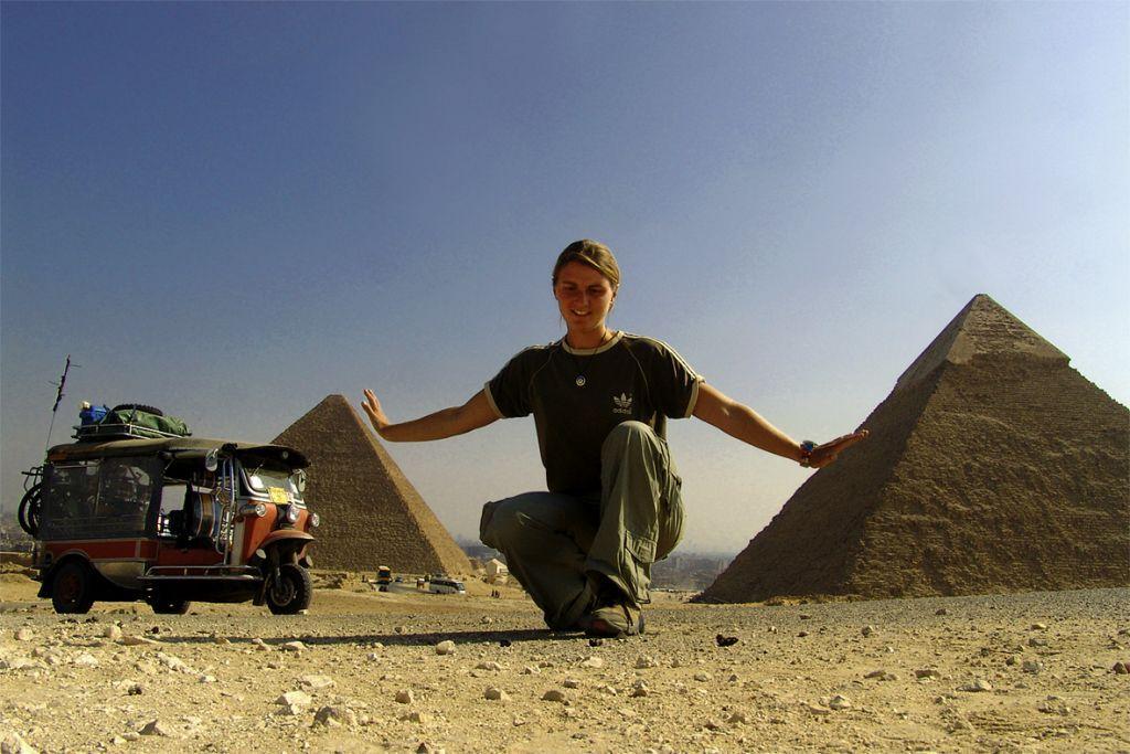 Gizeh, Ägypten, © Susanne Bemsel und Daniel Snaider