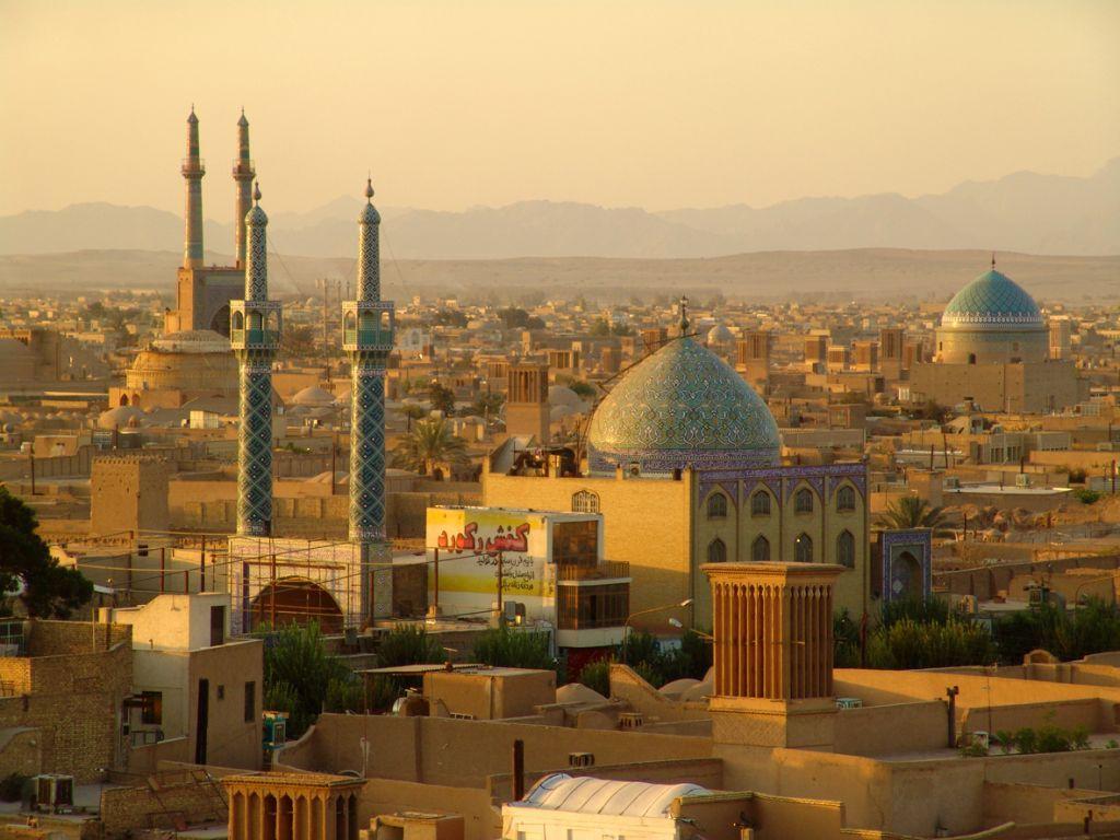Blick ueber Yazd, Iran, © Susanne Bemsel und Daniel Snaider