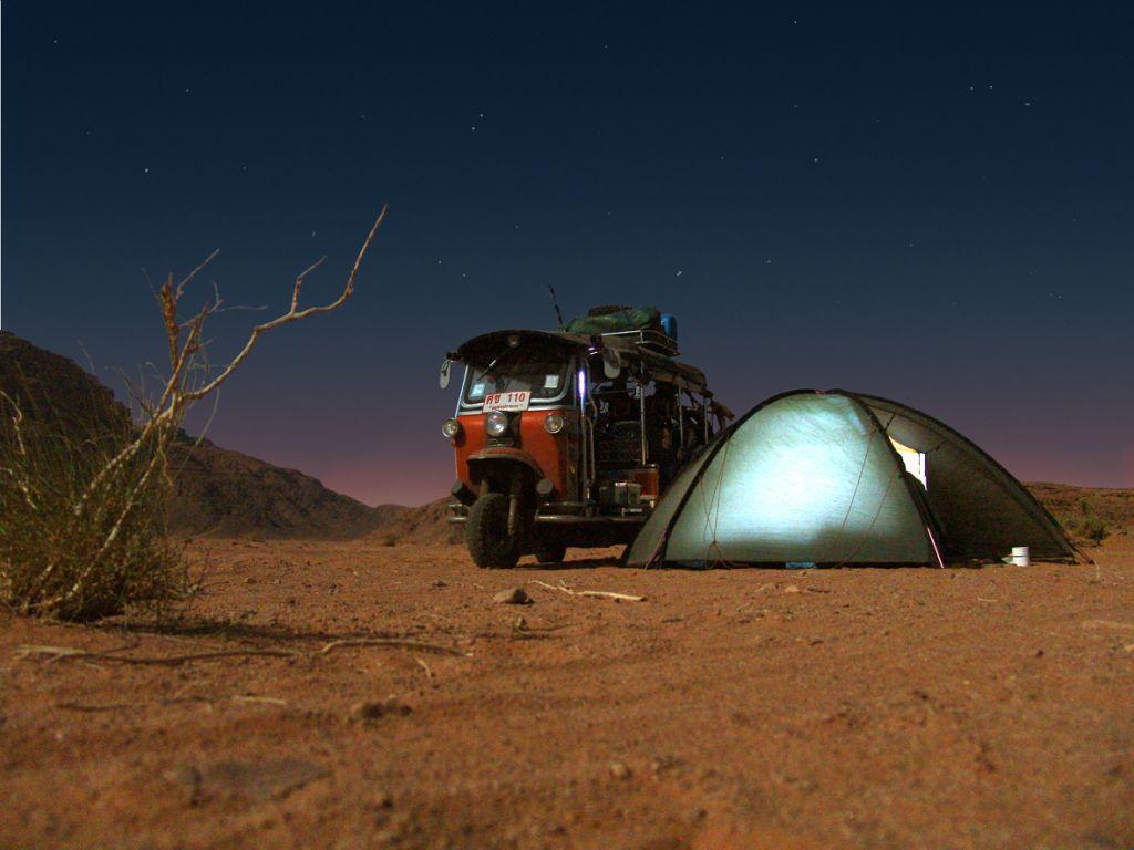 Jordanische Nacht, © Susanne Bemsel und Daniel Snaider