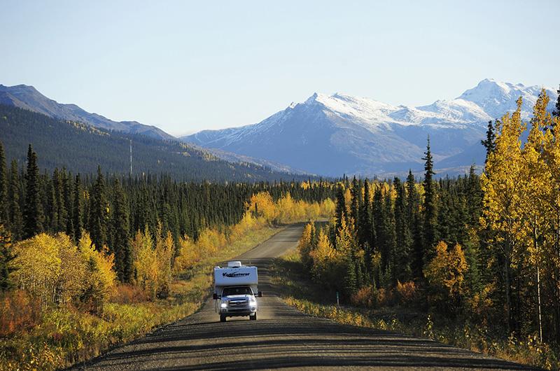 Auf dem Dempster-Highway, Yukon, Kanada, © Thomas Sbampato