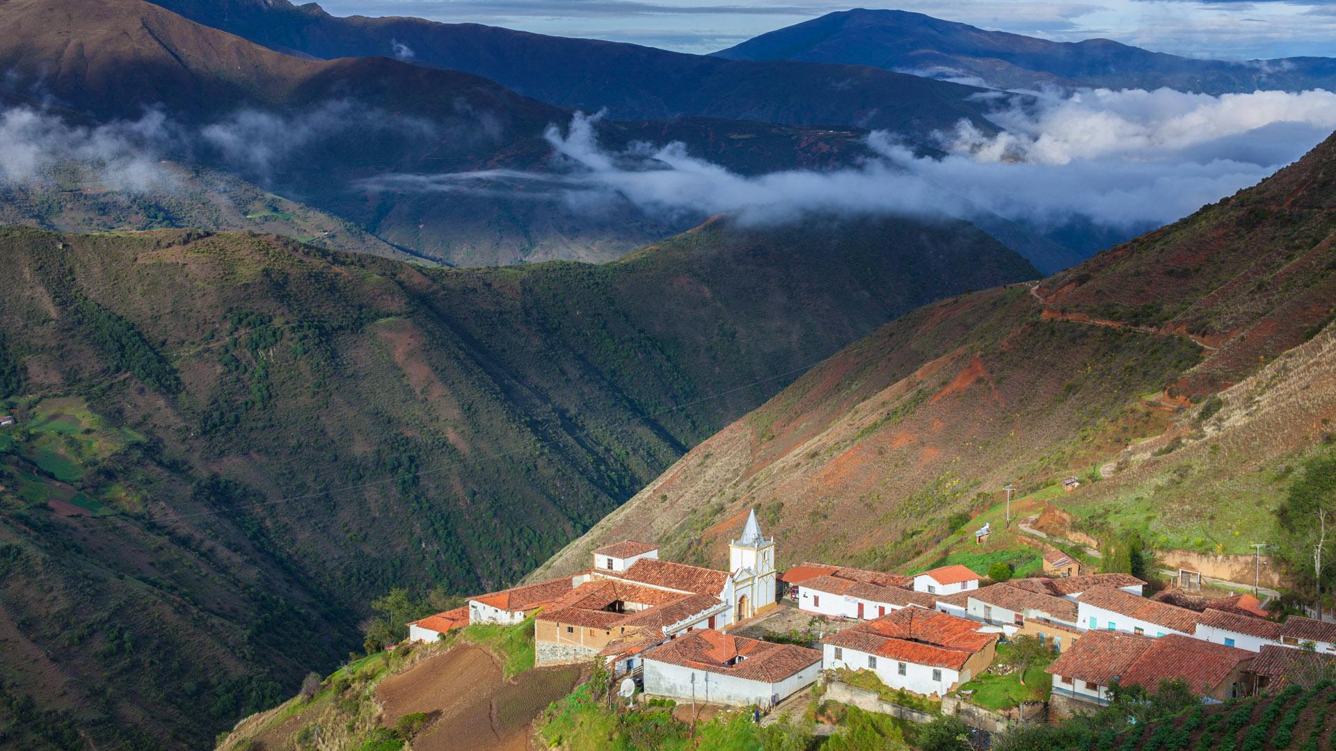Blick auf Los Nevados