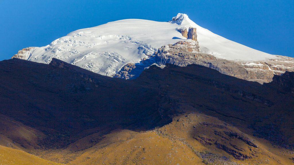Nevado Pan de Azúcar mit dem Pulpito del Diablo
