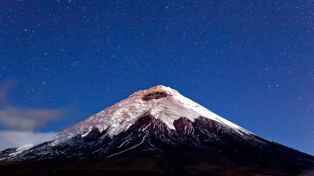 Vulkan Cotopaxi im Cotopaxi Nationalpark