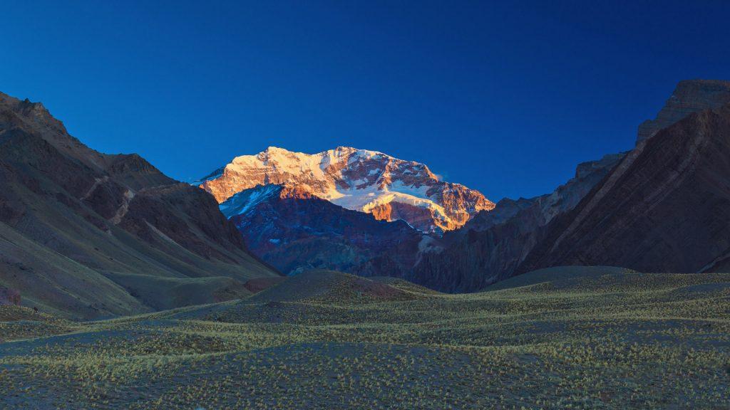 Der Aconcagua im Parque Provincial Aconcagua