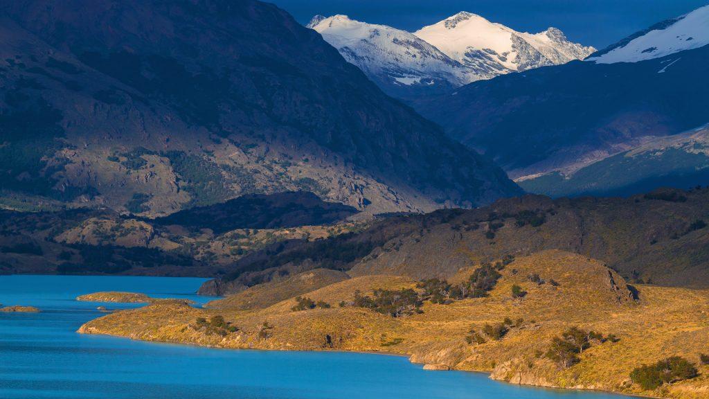 Lago Belgrano im Perito Moreno Nationalpark