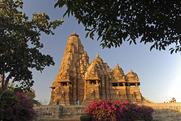 Lakshmana-Tempel, Khajuraho, Madhya Pradesh