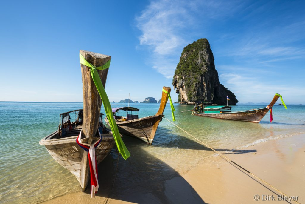 Tham Phra Nang Beach in Krabi