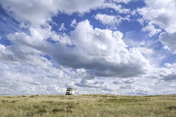 Kasachstan - Kasachische Steppe