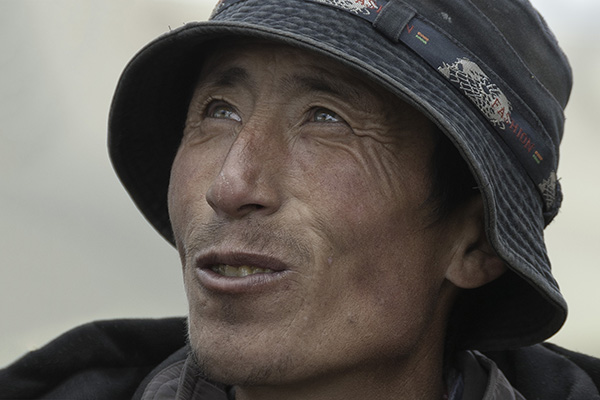 Mongolei - Adlerjüger Porträt