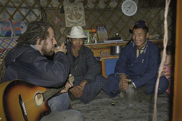 Mongolei - Gobi Nomaden