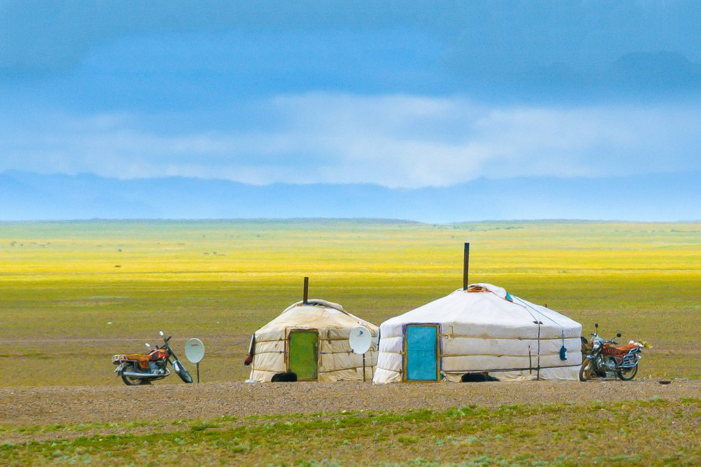 Mongolei_Jurten in der Mongolei