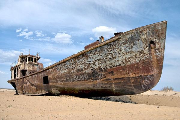 Moynak am Aralsee