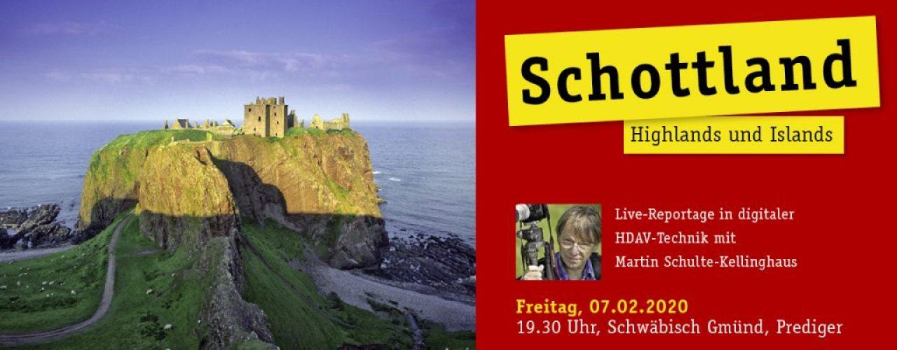 Slidermotiv-Schottland