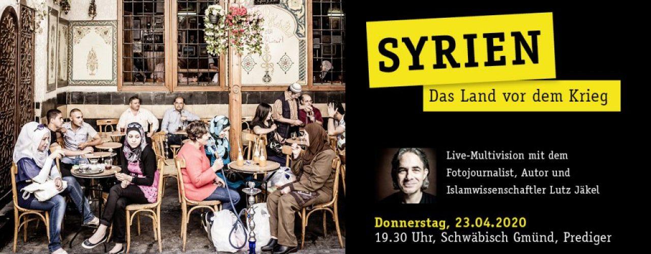 Slidermotiv-Syrien